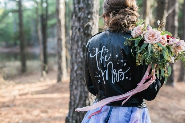 Bride's Leather Jacket